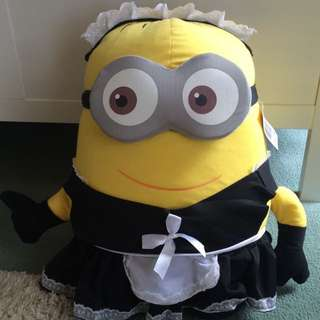 HUGE Minion Maid Doll