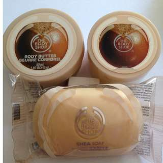 The Body Shop- Shea Body Pack (New)