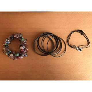 Ladies Fashion Dress Costume Bangles Bracelets  Infinity Bulk Lot
