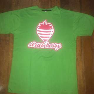Green STRAWBERRY Shirt