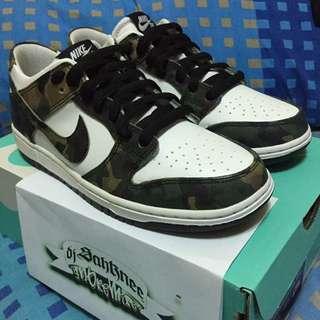 (US 9) Nike SB Zoom Dunk Low Pro 'Camo'