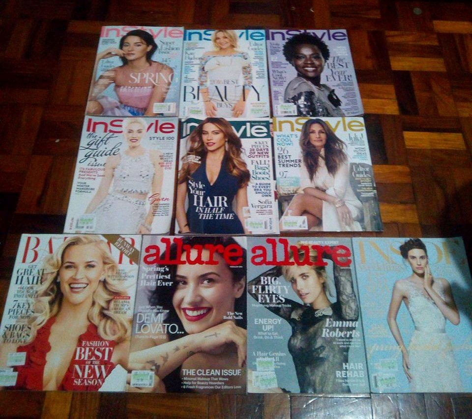 10 InStyle and other Fashion Magazines