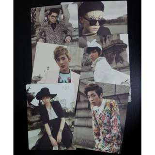 [SELLING CHEAP!!] Teen Top No.1 official photocard FULL SET