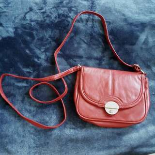 Ruby Red Small Bag