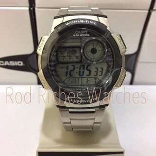 Casio stainless