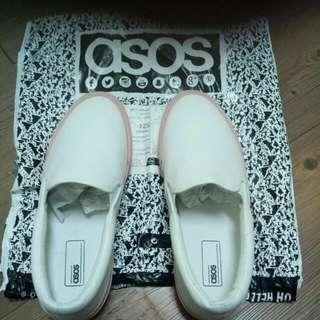 ASOS懶人鞋 US 9號   鞋底靚粉紅
