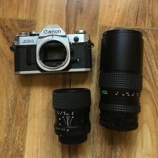 Canon AE-1 With Included Lens!