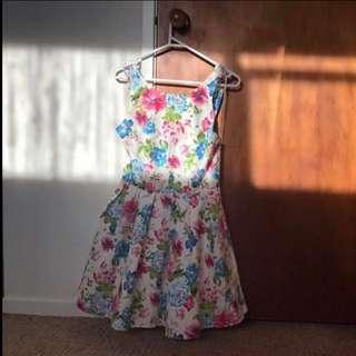 Vintage Flower Dress.