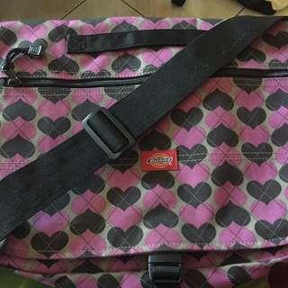 Dickies Pink Sling Bag