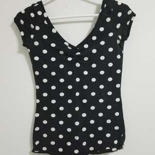 (FREE WITH PURCHASE) Polka Dot Low Scoop