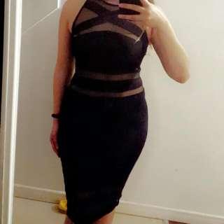 20.00 - Black Dress from Fashion Nova - S