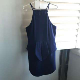 Navy Blue Dress Size 12