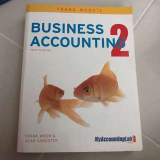 Frank Wood's Accounting 2