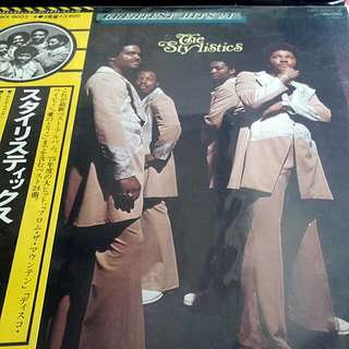 The Stylistics Greatest Hits 24 Japan Pressed Vinyl Double LP