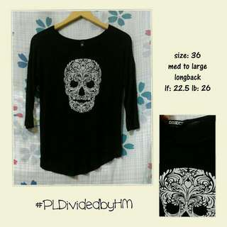 Divided By HM Black Blouse