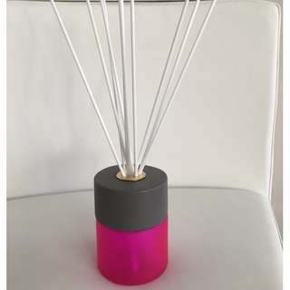LUXURY 200ML PINK REED DIFFUSER WITH CONCRETE LID