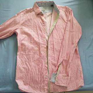 100% Authentic Ted Baker London Long Sleeves Checker