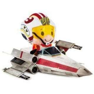 Hallmark itty bittys Star Wars 40th anniversary Luke Skywalker Limited Edition!