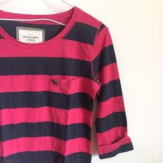 Abercrombie&Fitch 七分袖上衣