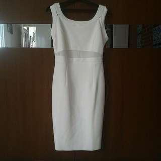 Zalora Midi Double Strapped Dress