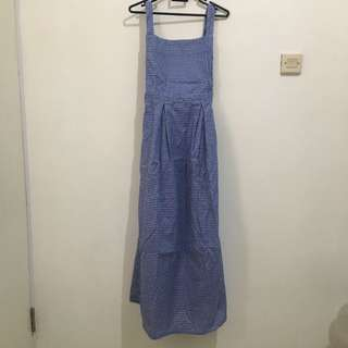 SALE! Overall Dress Navy