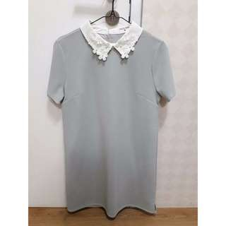 Dress This is april Grey Flower