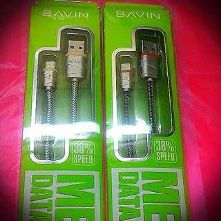 Bavin Metal Lightning Cable