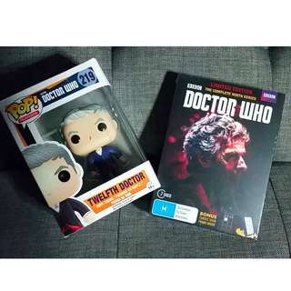 (LIMITED EDITION) Series 9 and Pop! Vinyl Figure DOCTOR WHO  [NEW]