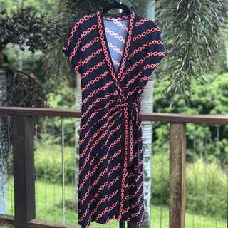Jane Lamerton Wrap Dress 12
