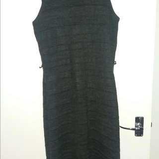Warm, Comfy, Knit Midi Dress (Size M/L, 10)