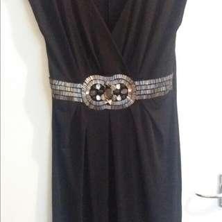 A-Line F&F Black Dress Size M