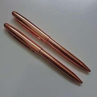 Gold Typo Pens