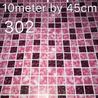Waterproof Mosaic Tile WALLPAPER