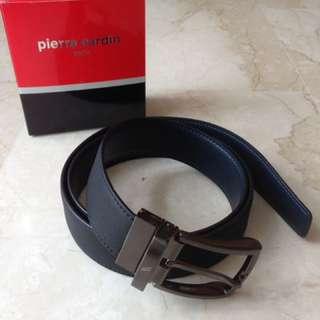 Pierre Cardin Black Leather Belt