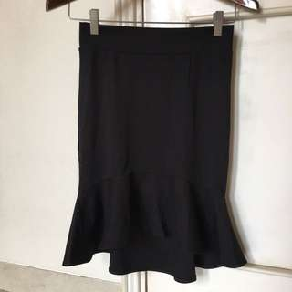 Black Mermaid Skirt