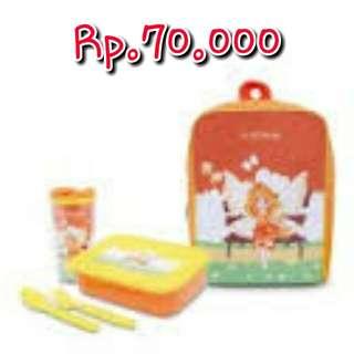 Tempat Makan Sophie Paris Pery Kids Lunch Set Orange
