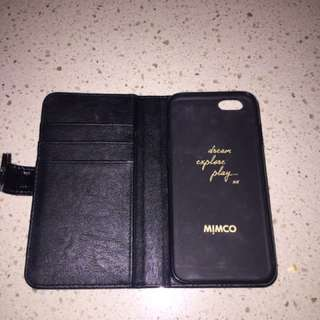 Black Mimco Phone Case