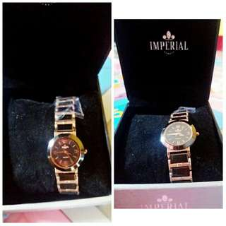 Imperial Watch (Black and Gold Combination)