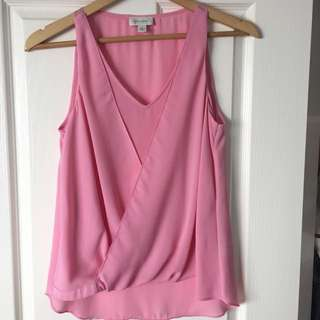 Witchery Layered Chiffon Top
