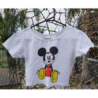 Mickey Mouse Crop Top (8-10)