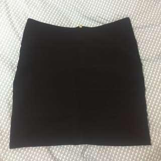 Topshop Black Mini Skirt
