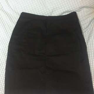 Tokito city Black Work Skirt Size 8