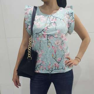 Floral blossom tosca Blouse