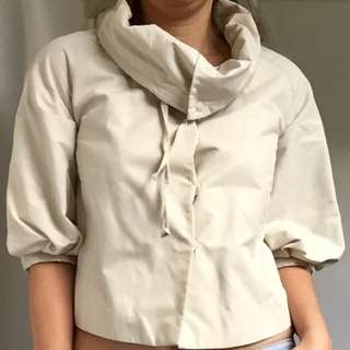 SABA - Cream Cropped Jacket