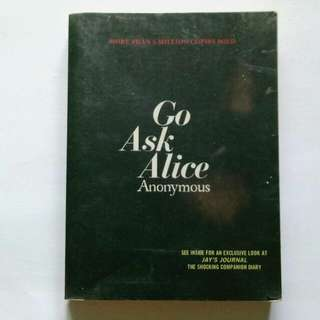 Go Ask Alice book