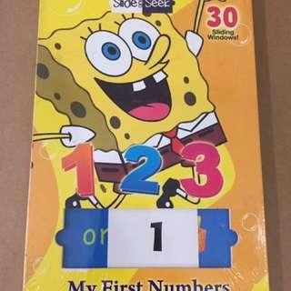 Slide & Seek My First Book Numbers 123
