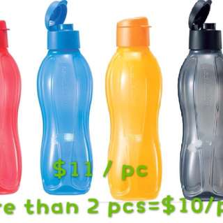 Tupperware Eco Bottle 1L (Flip top)