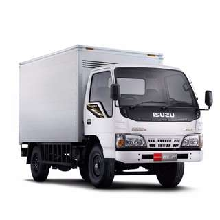 ISUZU CLOSE VAN FOR RENT