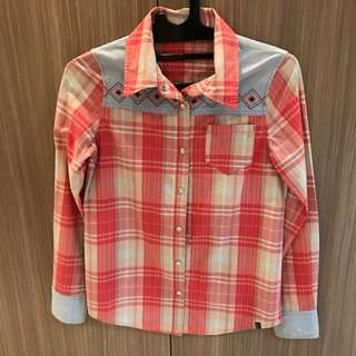 ROXY Button Up Blouse
