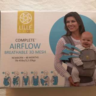 Lillebaby Complete Airflow 3D Mesh Baby Carrier Mist Grey